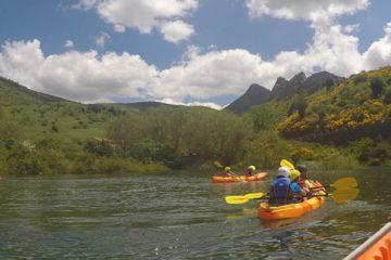 kayak lago carucedo
